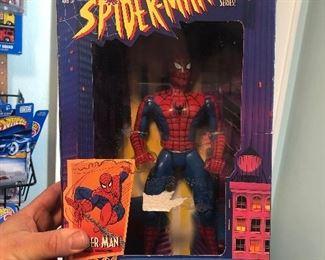 spider man in box toybiz $5