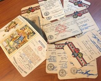 Boy Scout 1940s (war time) - Timber trails counsel Muskegon Michigan marriage certificates and more