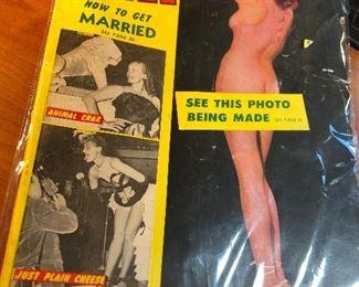 Vintage risqué magazine