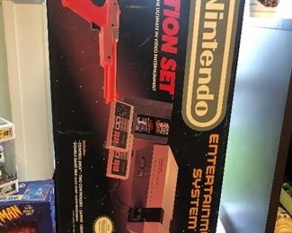 Vintage original  NES Nintendo BOX ONLY (increase value of your system or for display)