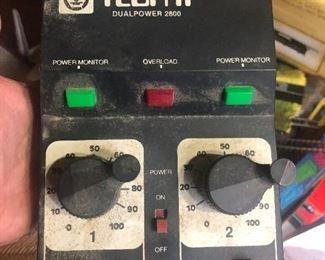 Tech II Dual Power 2800 Model Train Control Transformer  USA Made works