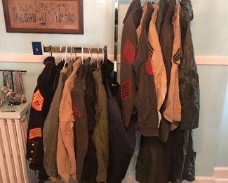 Military uniforms $5 average per item