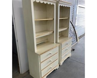 Lane Furniture 3 Drawer Bookcases-a Pair $995 DIMENSIONS 30ʺW × 17ʺD × 75ʺH