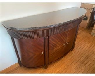 Bernhardt Contemporary Marble Top Credenza $1,995 DIMENSIONS 76ʺW × 23ʺD × 42ʺH