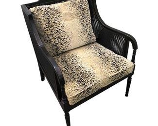 Swaim Furniture Cain Arm Chair Price:$695 DIMENSIONS 29ʺW × 28ʺD × 34ʺH