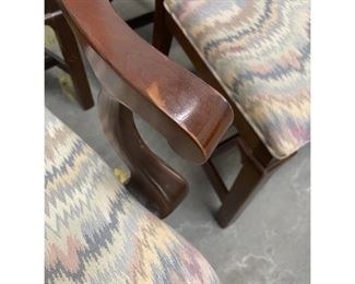 1990s Century Furniture Traditional Dining Chairs inCondition - Set of 8 $1,595 DIMENSIONS 20ʺW × 19ʺD × 40ʺH SEAT HEIGHT 19.0 inches
