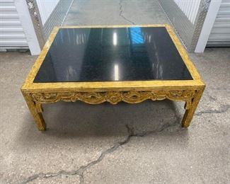 Amy Howard Style Black Marble Coffee Table Price:$1,595 DIMENSIONS 40ʺW × 48ʺD × 18ʺH