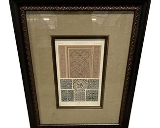 Byzantin Print Framed with Museum Glass $249 DIMENSIONS 22.5ʺW × 1ʺD × 27ʺH