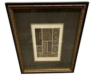Siecle Print Framed with Museum Glass $249