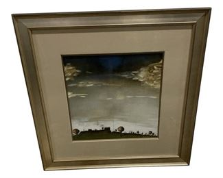 Martin Quinn Landscape Print Framed with Museum Glass $495 DIMENSIONS 42.25ʺW × 2ʺD × 42.25ʺH