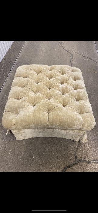 Baker Ottoman $450