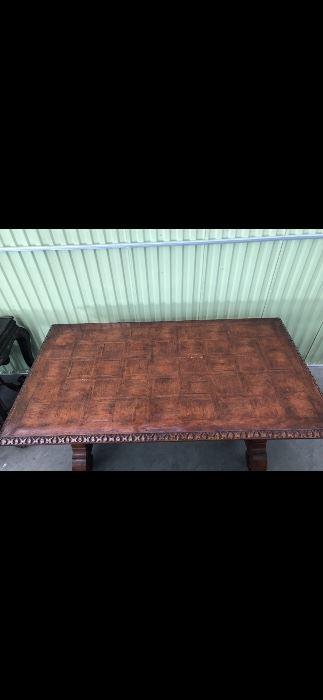 Solid Wood Desk $800