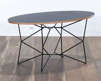 Adesso Modernist Network Black Coffee Table
