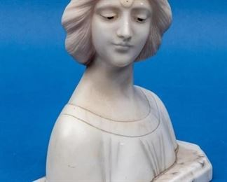 Vintage Neo-Classical Female Bust
