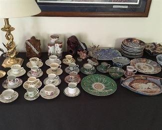 Imari, cup & saucer collection