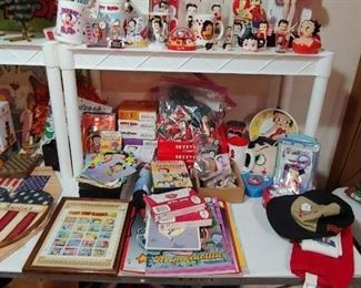 Betty Boop Collection.