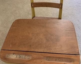 $259 - WOW! MID CENTURY MODERN SCHOOL DESK  ~  ( TWO AVAILABLE )