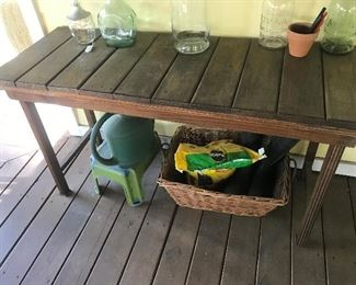 Table / Potting Bench $ 78.00