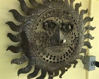 Metal Wall Art - Sun $ 48.00