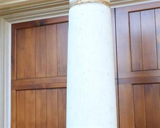 Now $325      Antique columns sold as a pair                                                  7'6H x 17W       sale price             $600!!!!