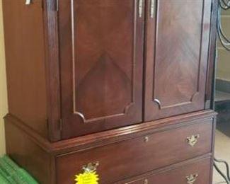 """Now $250     Lexington armoire   6'10""""H x 24D x 44W    Disassembles into 2 pieces       sale price  $300!!!"""