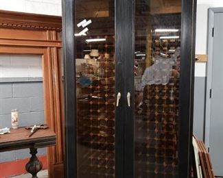 """Vinotemp Custom 450+ Bottle Refrigerated Double Compressor Wine Cabinet used only 3 years Retails $8K to $10K New Approx 80"""" tall by 50"""" wide by 30"""" deep.  $3500"""
