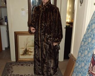 Long coat size XL. Still has the tag on sleeve. Never worn. Going for about $200 but will sell this one for $150.00