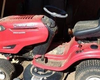 Troy Built Riding Lawn Mower with instruction manual