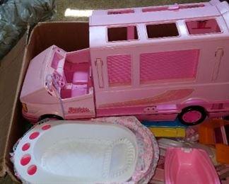 Old Barbie toys