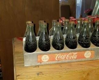 12 pack and Coca cola