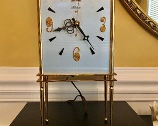 Midcentury GE Telechron electric clock