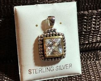 $10 Sterling silver pendant