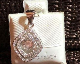 $8 Sterling pendant