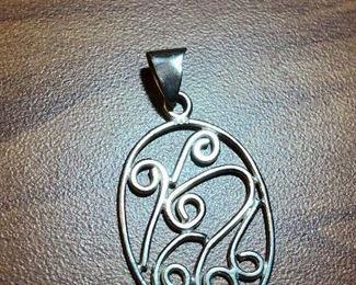 $8 Sterling silver pendant