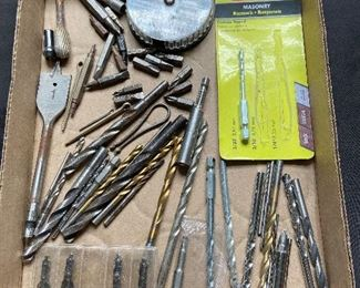 Box lot of drill bits - $10