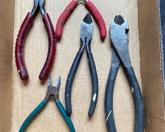 Choice vintage wire cutters, Klein - $3 each
