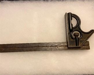 Vintage CI Square Ruler - $10