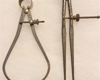 Vintage Drafters Compass Tools - $10 for both