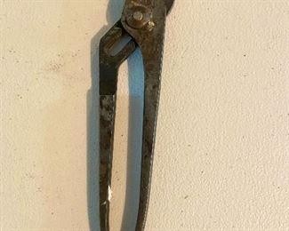 """Vintage Channel Lock Pliers 420 , Meadville, PA 9"""" - $10"""