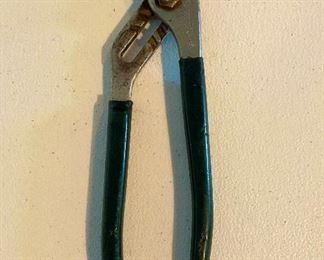 "10"" Diamond Grove Joint Pliers w/rubber handles $14"
