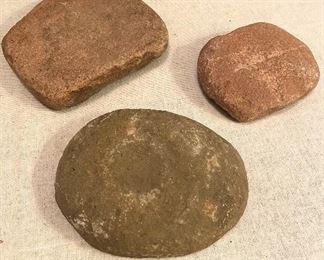 Indian Artifact Grinders - $100 (3)