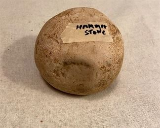 Indian Artifact Hammer Stone - $20