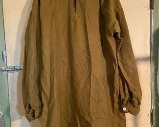 Rendezvous Mountain man jacket style with bone buttons - $25 (Large)