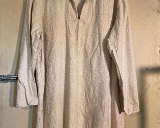 Rendezvous Mountain Man linen type shirt - $15 (Large)