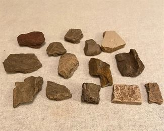 Indian Artifacts - Pottery shards. $15