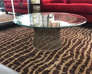 """Warren Platner Coffee Table for Knoll 36"""" originally $1900 sale price $750. Excellent condition!"""