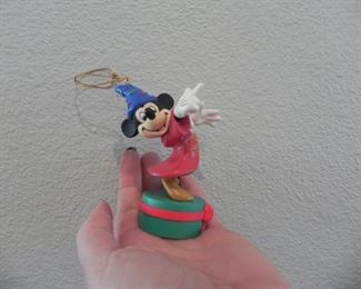 Fantasia Mickey Mouse Christmas Ornament