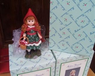 *Discount* Madame Alexander Figurines (Rapunzel, Little Red Riding Hood And Mother Goose (Original Prices $25   Each) All 3 For $35 NOW $20