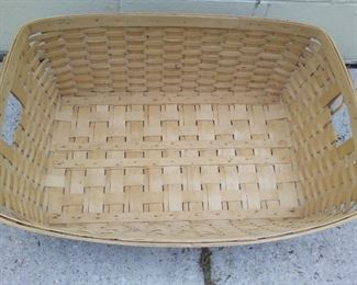 "*Discount* 1985 Longaberger Laundry Basket 29.5""X 21""X 10"" $85 NOW $65"