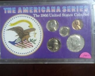 The Americana Series 1966 Coin Set  $14